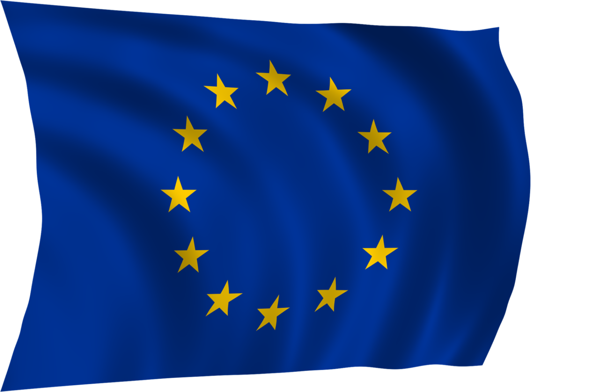 EU flag - GDPR -personal data protection