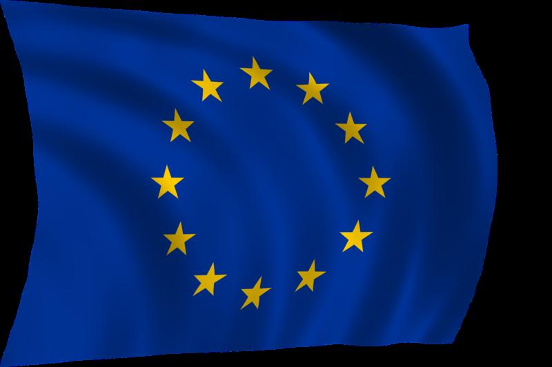 EU flag - GDPR -personal data protection